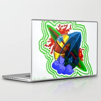logo Laptop & iPad Skins featuring logo by leotheartist