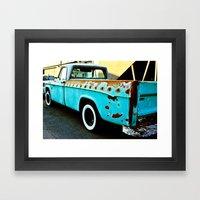 Rusty Dodge Framed Art Print