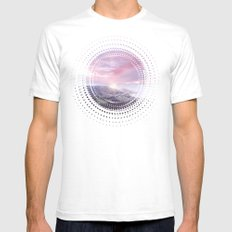 Pastel vibes 24 Mens Fitted Tee White SMALL