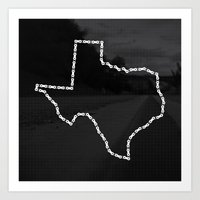 Ride Statewide - Texas Art Print