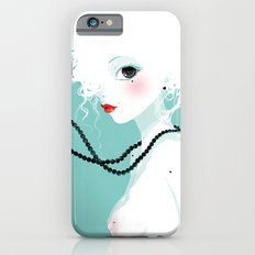 Black pearls iPhone 6s Slim Case