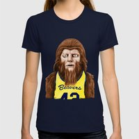 Teenwolf Womens Fitted Tee Navy SMALL