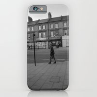 iPhone & iPod Case featuring Man Walking by Frederic Streminski