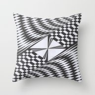 Crosswise Throw Pillow