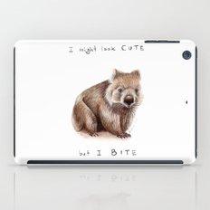 I might look cute, but I bite iPad Case