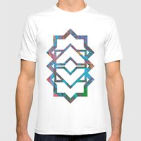 M024 Mens Fitted Tee White SMALL