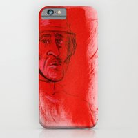iPhone & iPod Case featuring German Soldier from WW2 by Thousand Lines Ink