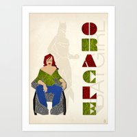 Oracle Art Print