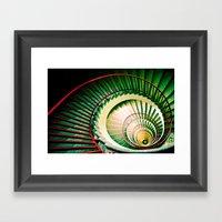 The Snail Framed Art Print