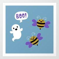 BooBees! Art Print