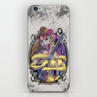 Zombie Beauty and the Beast iPhone & iPod Skin