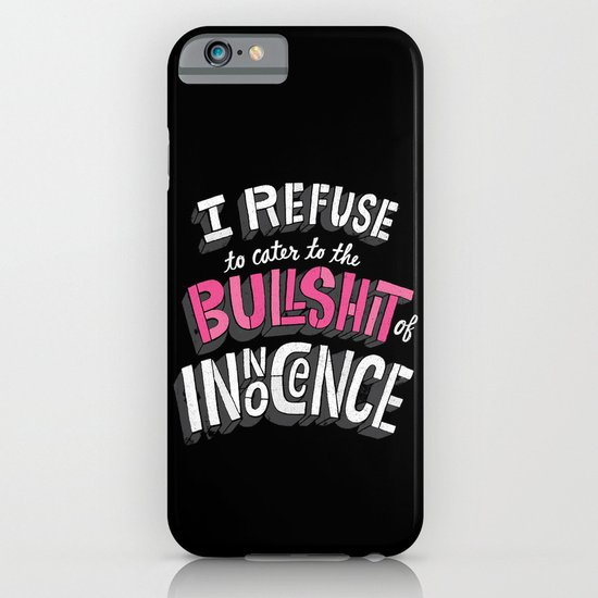 The Bullshit of Innocence  iPhone & iPod Case