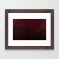 Harlequin - Textured Pat… Framed Art Print