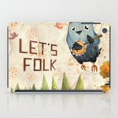 Let's Folk! iPad Case