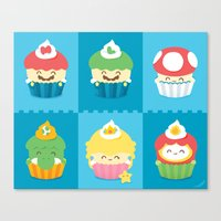 YUMario Bros Canvas Print