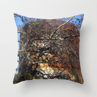 Rusted and Forgotten Throw Pillow