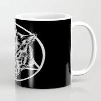 Staring Wolf Mug