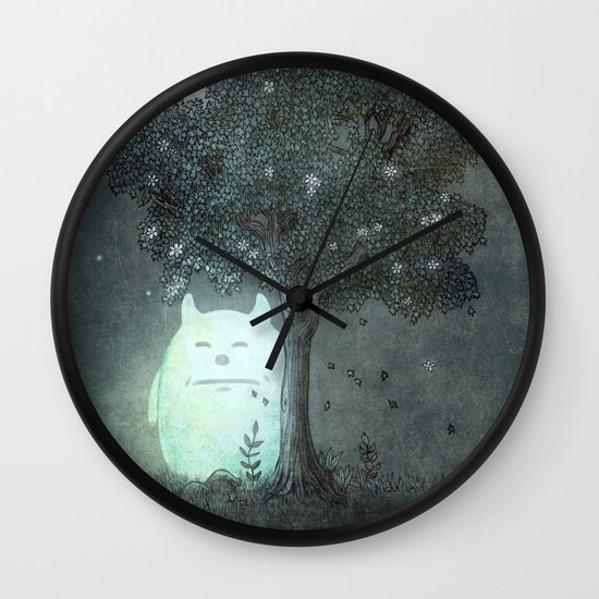 Full Moon Spirit  Wall Clock