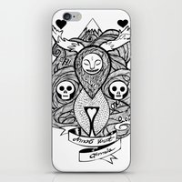 Amor Vincit Omnia iPhone & iPod Skin