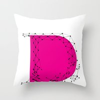 D (abstract Geometrical … Throw Pillow