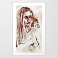 Taction Art Print