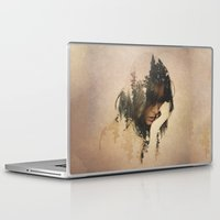 lost Laptop & iPad Skins featuring Lost In Thought by Davies Babies