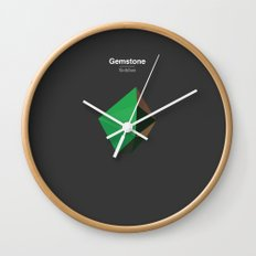Gemstone - Xirdalium Wall Clock