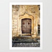 Histoire de portes II Art Print