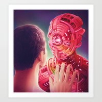 Interface Art Print