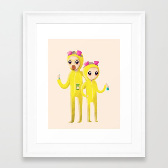 Yeah Science Framed Art Print