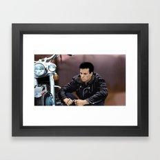 Portrait James Framed Art Print