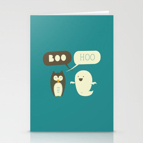 Boo Hoo Stationery Card