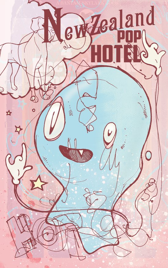 NewZealand Pop Hotel Art Print