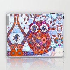 If Klimt Painted An Owl :) Owls are darling birds! Laptop & iPad Skin