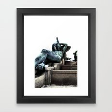 Capture The Prey Framed Art Print