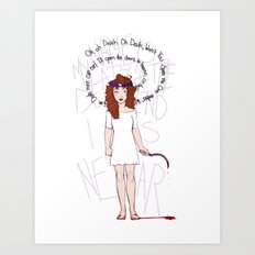 O' Death Art Print