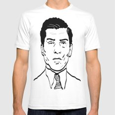 Charles 'Lucky' Luciano Mens Fitted Tee SMALL White