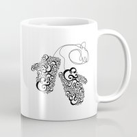 Ampersand Mittens Mug