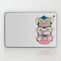 Hear No Evil, Speak No E… Laptop & iPad Skin