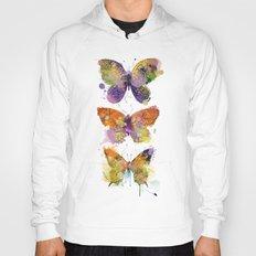 3 farfalle Hoody