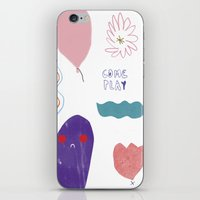 Come And Play iPhone & iPod Skin