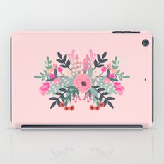 Pink bouquet Greeting card iPad Case
