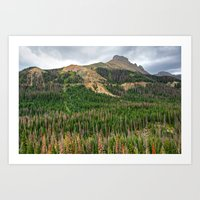 Nokhu Crags From Cameron… Art Print