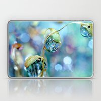 Rainbow Moss Drops Laptop & iPad Skin