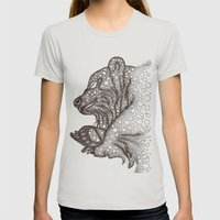 Winter Sleep Womens Fitted Tee Silver SMALL