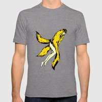 Banana Mens Fitted Tee Tri-Grey SMALL