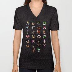 DB Alphabet Unisex V-Neck