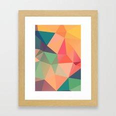 Geometric XV Framed Art Print
