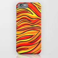 Tiger Stripes iPhone 6 Slim Case