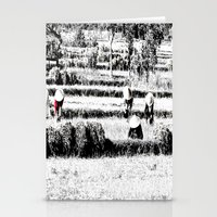 Rice Field Stationery Cards
